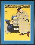 Audi poster from 1912