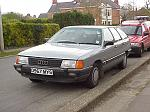 Audi 100 CD Avant auto, KU, self-levelling. Gearbox broke at c.187,000 miles, scrapped.