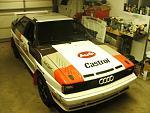 85 Audi UR Quattro Group B recreation