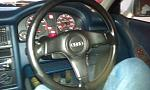 Leather Steering wheel fitted! :)